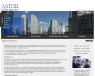 Bild Webseite Astor Immobilien Berlin