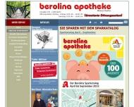 Bild Webseite berolina versand und grundbesitz Berlin