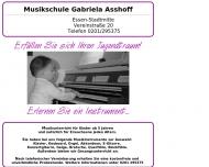 Bild Musikschule Asshoff Gabriela Musikunterricht