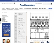 Website Peek & Cloppenburg