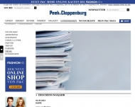 Website Peek & Cloppenburg