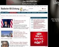 Website Badischer Verlag