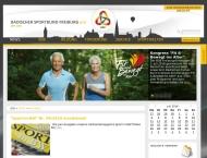 Website Badischer Sportbund Freiburg