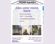 Bild Webseite Stegos Immobilien, Hausverwaltung und Geschäftsbesorgung Berlin