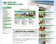 Bild Webseite Miekley Immobilien Berlin