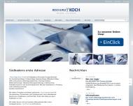 Bild Webseite Beschläge Koch Freiburg im Breisgau