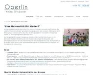 Bild Oberlin Kinderuniversität