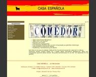Website Casa Espanola