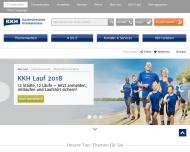 Bild Webseite KKH-Allianz Servicezentrum Bremen Bremen