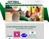 Website Werbetechnik Bremen - Otten Werbetechnik