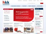 Bild Webseite Hkk Bremen