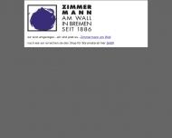 Bild Webseite Zimmermann am Wall Bremen