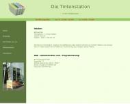 Website Die Tintenstation