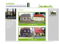 Bild Webseite Cursor Grundstücksentwicklung Berlin