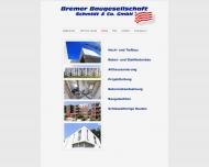 Bild Bremer Baugesellschaft Schmidt & Co GmbH & Co KG