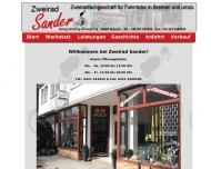 Bild Webseite Zweirad-Sander Bremen
