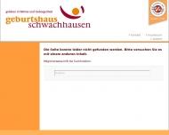 Website Geburtshaus Schwachhausen