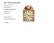 Bild Ernst Otto Uhrmachermeister