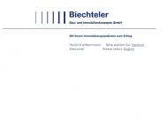 Bild Webseite Biechteler Bau- und Immobilienkonzepte Berlin