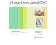Bild Webseite Duwe Thomas Berlin