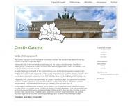 Bild Webseite CREATIV CONCEPT Berlin