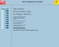 Willkommen Bernd Koch Siebdruck GmbH Dortmund