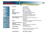 Website Cafe Kleimann