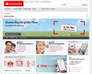Website Santander Bank