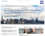 Website Deutsche Bank