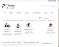 Website PC Doktor Dortmund Computer Service - PC Notdienst