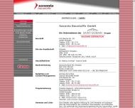 Website - Saxonia Baustoffe - Ihr Baustoff-Fachhandel für Umbau, Ausbau ...