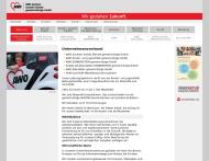 Website AWO Sachsen Soziale Dienste gemeinnützige