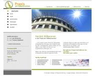 Website Orthopädische Praxis am Falkenbrunnen Dresden