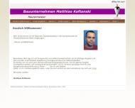 Bild Webseite Bauunternehmen Matthias Kaftanski Berlin