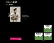 Bild Webseite Monsieur Vuong Berlin
