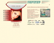 Website Optik Kontaktlinsen Forster