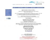 Bild Webseite Imazing Computersysteme Berlin