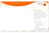 Bild Webseite ZATT Zentrum für Analyse, Therapie und Training Berlin