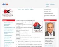 Bild Webseite Konzept Consulting Unternehmensberatung Köln