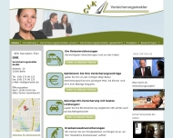 Bild Webseite GVK-Versicherungsmakler Berlin