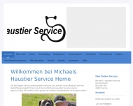 Website Michaels Haustier Service