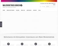Website Malermeister Kubicek