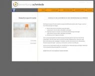 Bild Webseite Bewerbungsschmiede Aachen