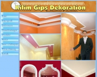 Bild kilim gips dekoration