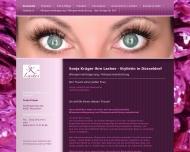 Bild Webseite SK - Lashes Sonja Krüger Düsseldorf