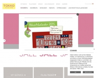Bild Webseite Takko Fashion Frankenberg (Eder)