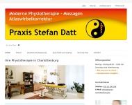 Bild Webseite Praxis Stefan Datt Berlin