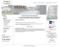 Bild Webseite Immobilien-Contor Lorenz Hamburg