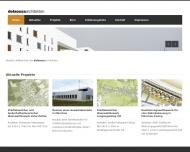 Bild Webseite delaossaarchitekten München