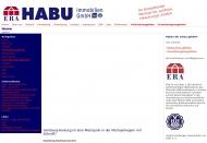 Bild Webseite HABU Immobilien Hamburg